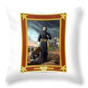 General Us Grant Throw Pillow