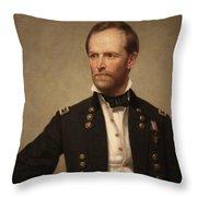 General William Tecumseh Sherman Throw Pillow