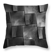 Geometrix Abstract Art Throw Pillow