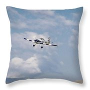 George Ford And Matt Beaubien In Friday Morning's Sport Class Signature Edition 16x9 Aspect Throw Pillow