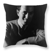 George Gershwin, American Composer Throw Pillow