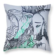 Gethsemanes Promise Throw Pillow
