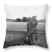 Gettysburg  Landscape Throw Pillow