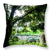 Gettysburg National Cemetery Throw Pillow