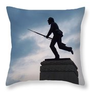 Gettysburg Statue  Throw Pillow