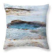 Geysir Area Throw Pillow