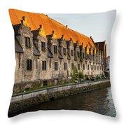 Ghent2 Throw Pillow