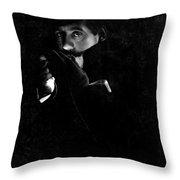 Giacomo Puccini, Italian Composer Throw Pillow