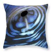 Giant Tridacna Clam Throw Pillow