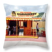Gift Shop Throw Pillow