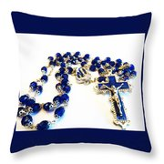 The Power Of Prayer Throw Pillow