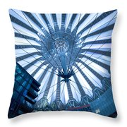 Glass Sky Throw Pillow