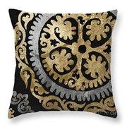 Glitterfish Iv Throw Pillow