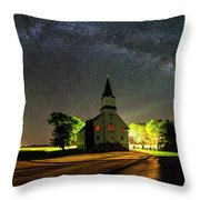 Glorious Night Throw Pillow