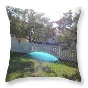Gods Backyard Throw Pillow