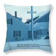 Gods Counsel Car Is Not Photoshopped Throw Pillow