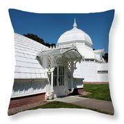 Golden Gate Conservatory Throw Pillow