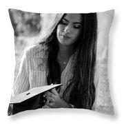 Golden Hour Senior  Throw Pillow