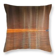 Golden Trail 2015 Throw Pillow