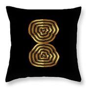 Golden Waves Hightide Natures Abstract Colorful Signature Navinjoshi Fineartartamerica Pixels Throw Pillow