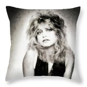 Goldie Hawn, Actress Throw Pillow