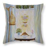 Gone With The Wind Lamp Throw Pillow