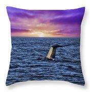 Good Night Newport Beach Throw Pillow