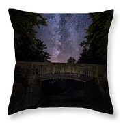 Goodnight Acadia Throw Pillow