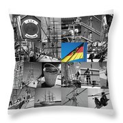 Gorch Fock 1958 Throw Pillow