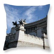 Government Building Rome Throw Pillow