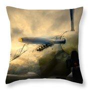 Grace Spitfire Ml407 Throw Pillow
