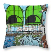 Graffiti #5781 Throw Pillow