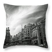 Gran Via Throw Pillow