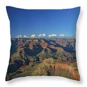 Grand Canyon At Sunset Throw Pillow