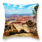Grand Canyon Scenic Throw Pillow