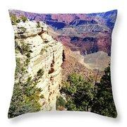 Grand Canyon13 Throw Pillow