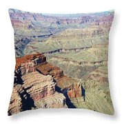Grand Canyon27 Throw Pillow