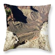 Grand Canyon32 Throw Pillow
