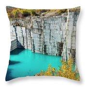 Granite Quarry Throw Pillow