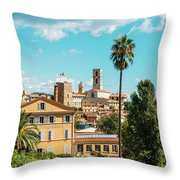 Grasse In Cote D'azur, France  Throw Pillow