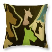 Great Danes Throw Pillow