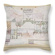 Great Hall For Singers Throw Pillow