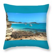 Great Keppel Island Throw Pillow