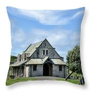 Great Orme Cemetery Throw Pillow