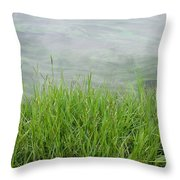 Grass Throw Pillow