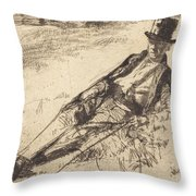Greenwich Pensioner Throw Pillow