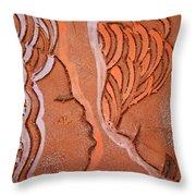Greeting - Tile Throw Pillow