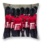 Grenadier Guards Throw Pillow