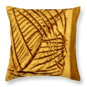 Grit - Tile Throw Pillow