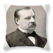 Grover Cleveland (1837-1908) Throw Pillow